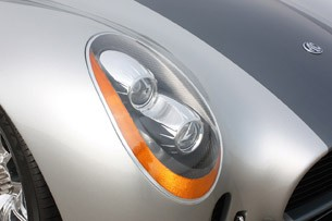 2012 Iconic AC Roadster headlight