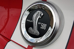 2011 Ford Shelby GT500 Convertible faux gas cap
