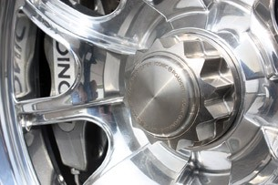 2012 Iconic AC Roadster wheel detail
