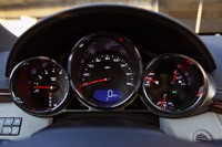2011 Cadillac CTS Coupe gauges