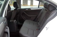 2011 Volkswagen Jetta rear seats