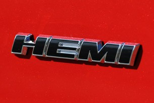 2011 Dodge Charger Hemi badge