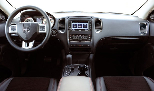 2011 Dodge Durango interior