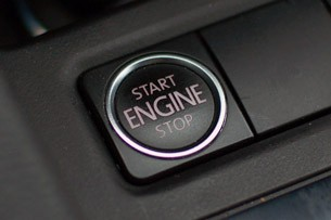 2011 Volkswagen Jetta start button