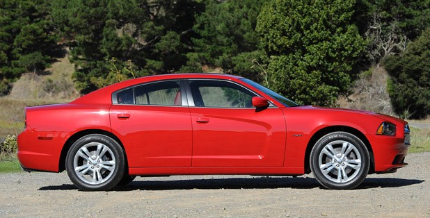 2011 Dodge Charger side view