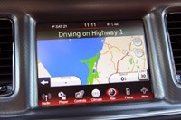 2011 Dodge Charger navigation system
