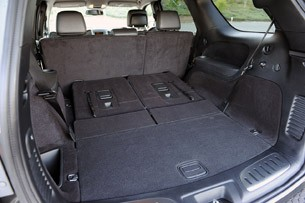 2011 Dodge Durango rear cargo area