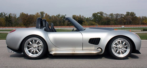 2012 Iconic AC Roadster side view