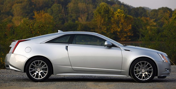 2011 Cadillac CTS Coupe side view