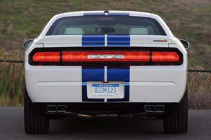 2011 Dodge Challenger SRT8 392 rear view