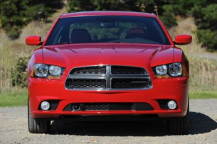 2011 Dodge Charger front view