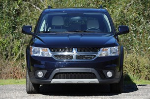 2011 Dodge Journey front view