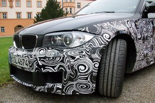 2012 BMW 1-Series M Coupe Prototype front detail