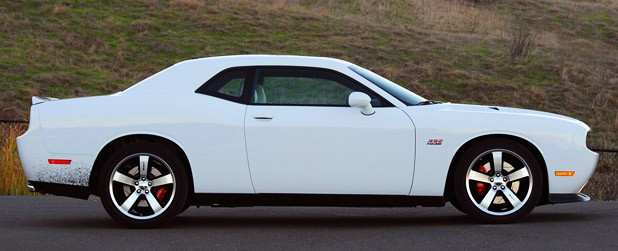 2011 Dodge Challenger SRT8 392 side view