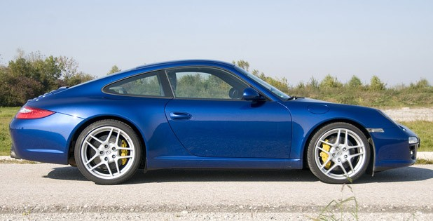 2010 Porsche 911 Carrera S side view