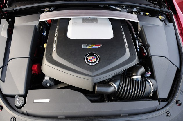 2011 Cadillac CTS-V Wagon engine