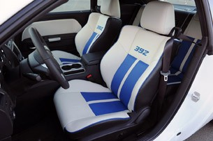 2011 Dodge Challenger SRT8 392 front seats