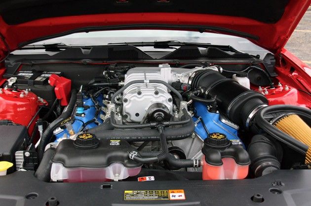 2011 Ford Shelby GT500 Convertible engine