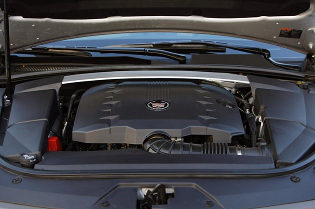2011 Cadillac CTS Coupe engine