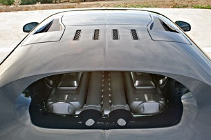 2011 Bugatti Veyron Super Sport roof
