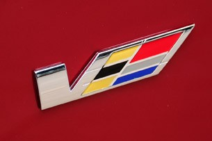 2011 Cadillac CTS-V Wagon badge