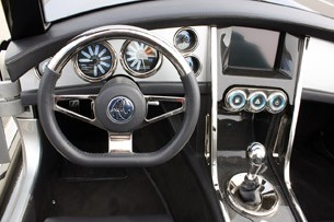 2012 Iconic AC Roadster interior