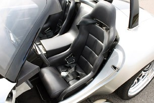 2012 Iconic AC Roadster seats