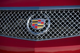 2011 Cadillac CTS-V Wagon grille