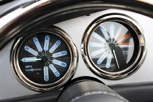 2012 Iconic AC Roadster gauges