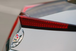 2011 Cadillac CTS Coupe rear detail