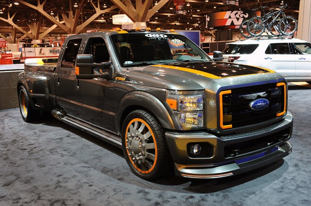 Airhead Kustoms Ford F-350 Super Duty - Click above for high-res image