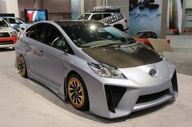 Toyota Prius C&amp;A Custom Concept