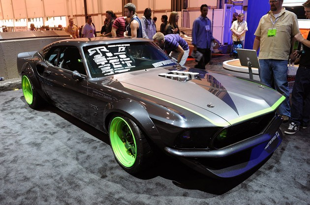 Vaughn Gittin Jr.'s RTR-X Mustang