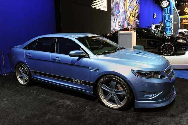 SEMA 2010: Ford Taurus SHOx prescribed for power, side ...