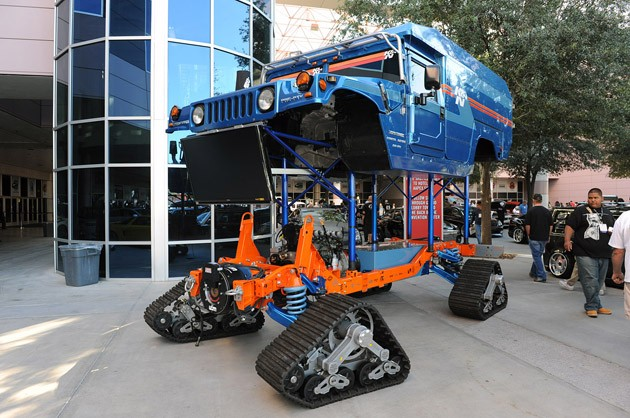SEMA 2010: Zero South Biodiesel Electric Hummer shows the guts