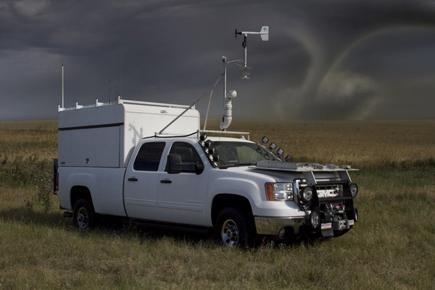 storm chaser truck