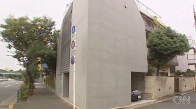 Video: Japanese man builds $500,000 house in single parking space