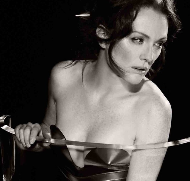 Julianne Moore in the 2011 Pirelli calendar