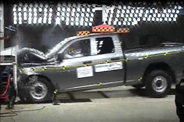 2011 Dodge Ram crash test