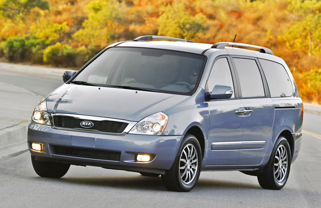 2011 kia sedona gets corporate face new engine. Black Bedroom Furniture Sets. Home Design Ideas
