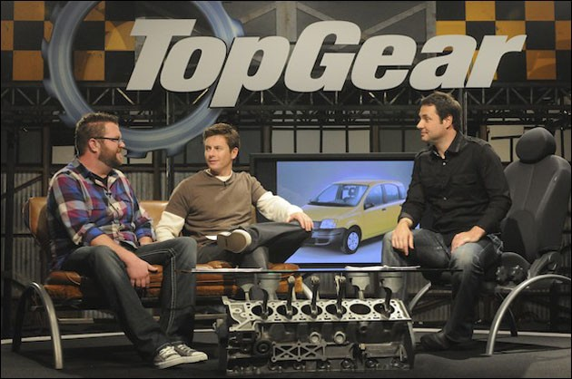 Top Gear USA Set