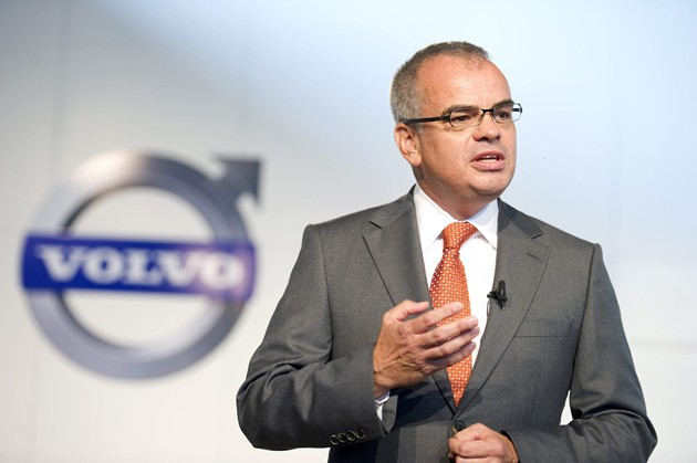 Volvo CEO Stefan Jacoby