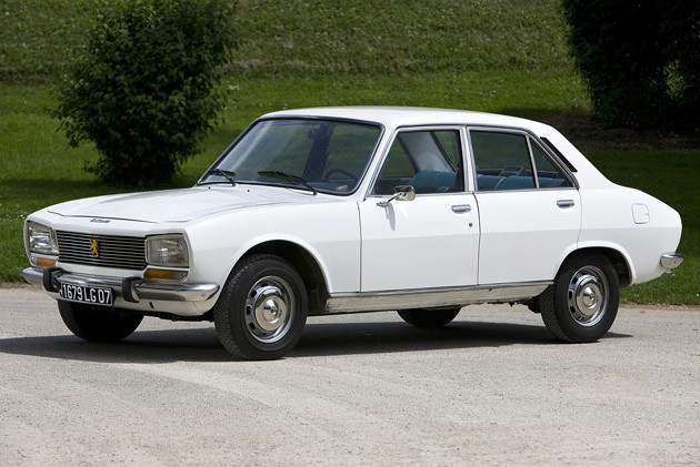 Mahmoud Ahmadinejad's 1977 Peugeot 504