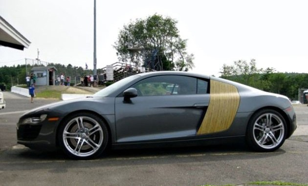 Wood Audi R8
