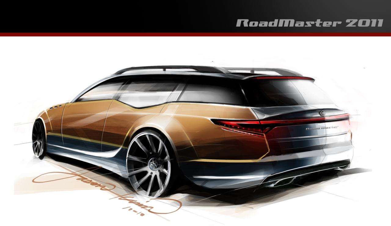 What Would A 2011 Buick Roadmaster Look Like Top Gear Usa Takes 94 96 Wagon Autoblog