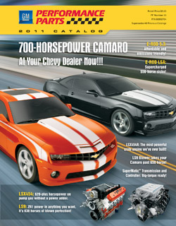 GM Performance Parts Catalog 2011