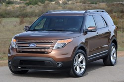 03 2011 ford explorer fd 1293722209 Chevrolet Volt, Ford Explorer named Detroit Free Press Car and Truck of the Year