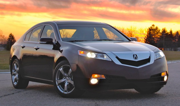 2010 Acura TL SH-AWD at sunset