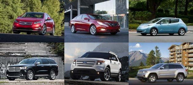 2011 North American Car and Truck of the Year Finalists