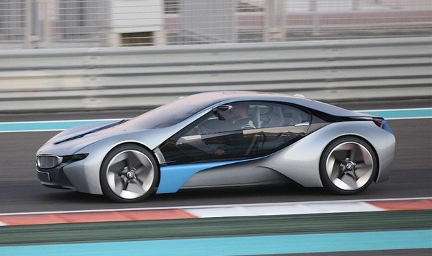 BMW Vision EfficientDynamics concept spotted in Abu Dhabi